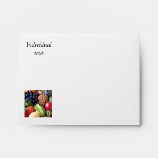 exotic fruits envelope