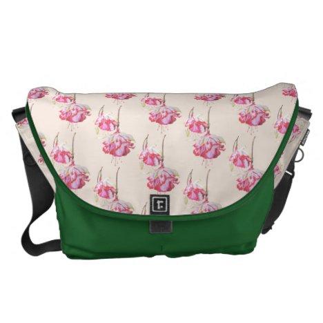 Exotic Fuchsias on a Travel Bag