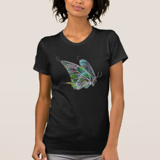 Exotic Glow Butterfly T Shirt