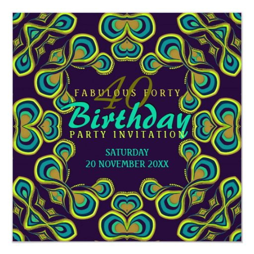Sunflower Sparkle Glitter Silver and Golden Dinner Party Invitation – Moroccan Party Invitations
