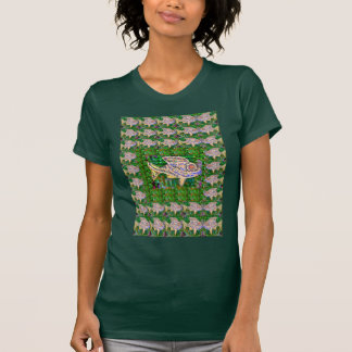Exotic GOLD Fish Artistic work by Navin Joshi GIFT T Shirts