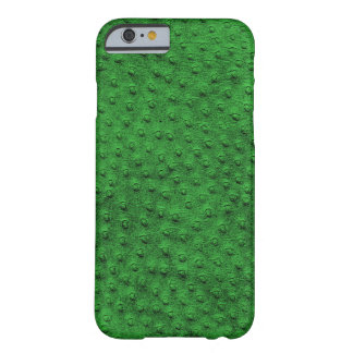 Exotic Green Ostrich Leather iPhone 6 Case