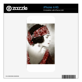 Exotic Gypsy Girl Skins For iPhone 4