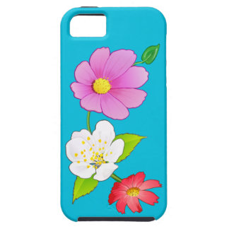 Exotic Hawaiian Floral Smart Phone Cases Covers iPhone 5 Cover