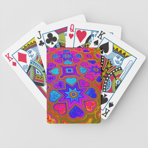 'Exotic Hearts' Playing Cards