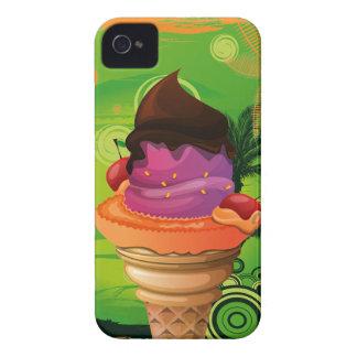 Exotic Ice Cream Mix Cone Blackberry Bold Case