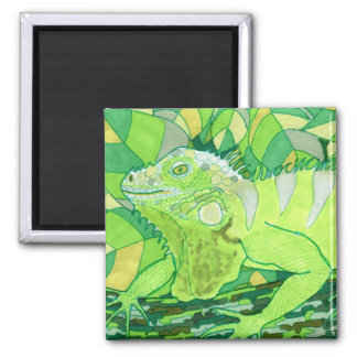 Exotic Iguana Refrigerator Magnet