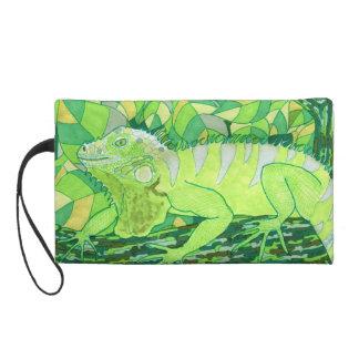 Exotic Iguana Wristlet Purse