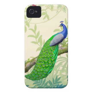 Exotic Indian Blue Peacock Blackberry Bold Case