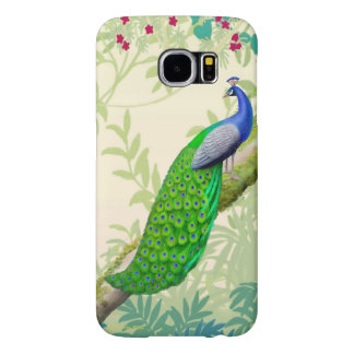 Exotic Indian Blue Peacock Samsung Galaxy S6 Case