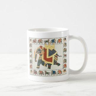 EXOTIC INDIAN ELEPHANT ARTWORK COFFEE MUG