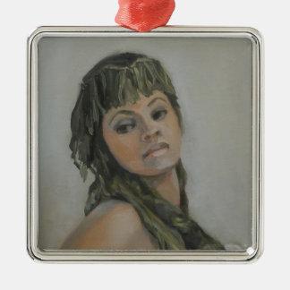 Exotic Jewel I Premium Square Ornament