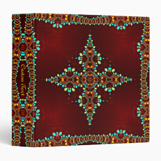 Exotic Jewels Bohemain Art Album Binder