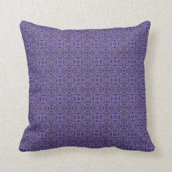 Exotic Jewels Small Check Throw Pillow