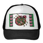 EXOTIC Ladybug Graphic Art Hat