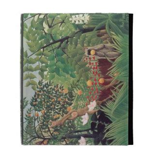 Exotic Landscape, 1910 iPad Case