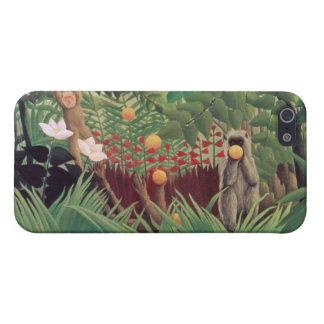 Exotic Landscape, 1910 iPhone SE/5/5s Case