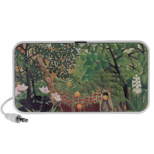 Exotic Landscape, 1910 Laptop Speakers