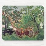 Exotic Landscape, 1910 Mouse Pad