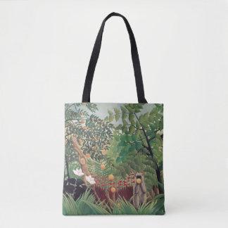 Exotic Landscape, 1910 Tote Bag