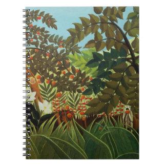 Exotic landscape notebook