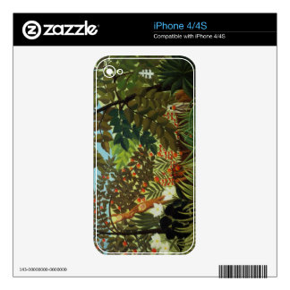 Exotic landscape skins for the iPhone 4S