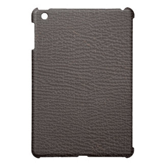 Exotic Leather Texture Antique Chocolate Brown Case For The iPad Mini