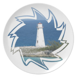 Exotic Lighthouse Plate