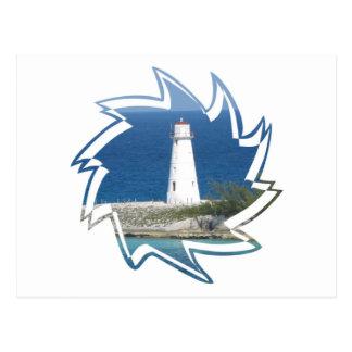 Exotic Lighthouse Postcard