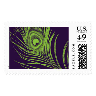 Exotic Mme Peacock Feather | Atelier Isabey Stamps