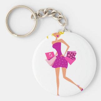 EXOTIC MODEL GIRL Creative t-shirts Keychain