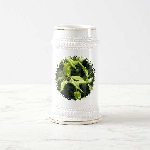 Exotic Orchid Beer Stein Coffee Mug