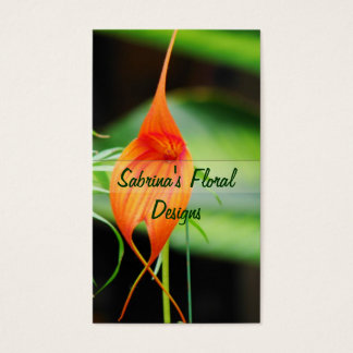 Exotic Orchid Business Card