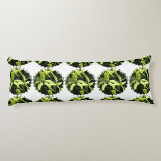 Exotic Orchids Body Pillow