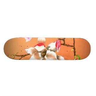 exotic painting skateboard deck