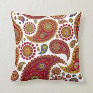 Exotic Paisley American Mojo Pillow