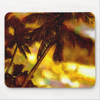 Exotic Palm Tree Mouse Pad