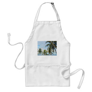 Exotic Palm Trees Adult Apron