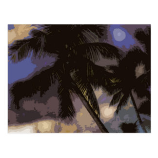 Exotic Palm Trees Post Cards