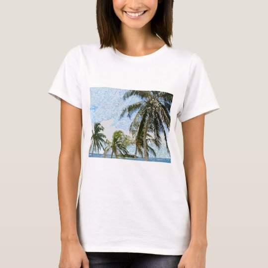 Exotic Palm Trees T-Shirt