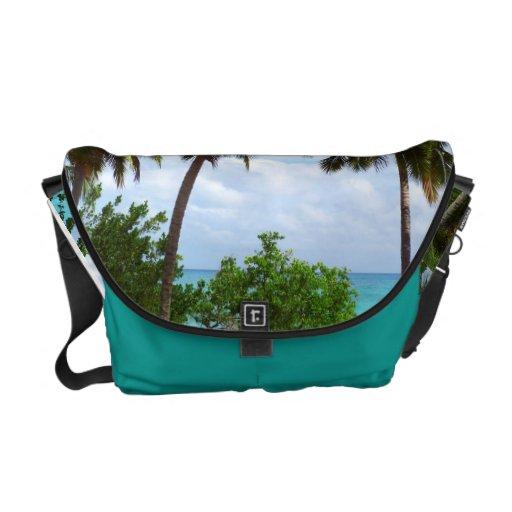 Exotic Palmtrees Medium Messenger Bag