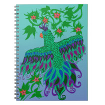 Exotic Parrot Spiral Notebook