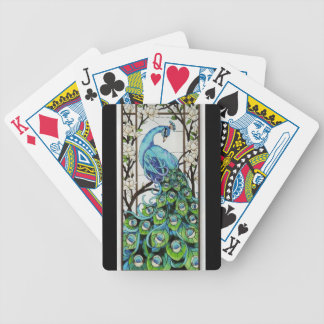 EXOTIC PEACOCK PLAYING CARDS
