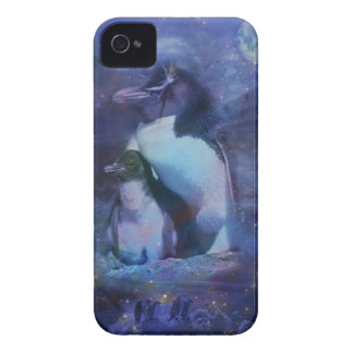 Exotic Penguins in Tuxedos iPhone 4 Case