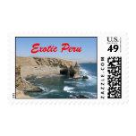 Exotic Peru stamp