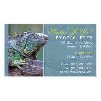 Exotic Pets Business Card