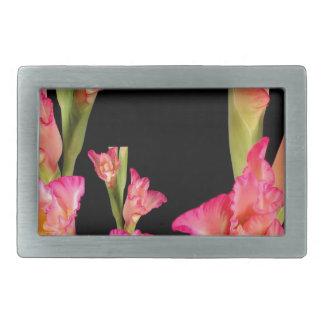 Exotic Pink Flower Bouquet Floral Elegant Gifts Belt Buckle