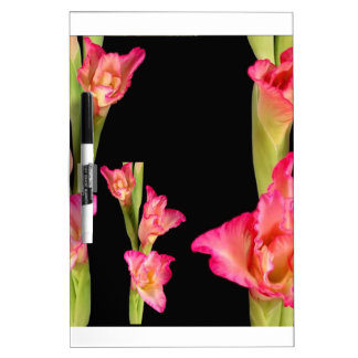 Exotic Pink Flower Bouquet Floral Elegant Gifts Dry-Erase Board