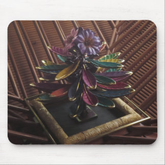 EXOTIC PLANT Flower ART- CASINO Interior Deco GIFT Mouse Pad