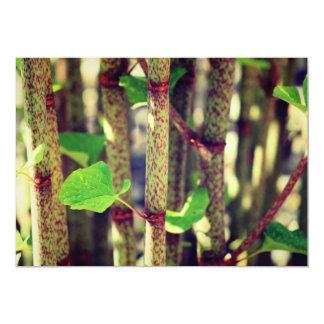 Exotic Plant 5x7 Paper Invitation Card
